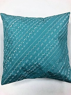 Fancy stitched pillow